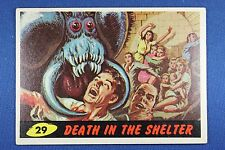 1962 Topps Bubbles - Mars Attacks - #29 Death In The Shelter - Exc.++ Condition