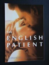 THE ENGLISH PATIENT JACOBS CAFE MOVIE OF THE MONTH ADVERT PROPAGANDA POSTCARD