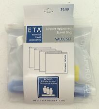 NEW ETA Airport Approved Travel Bag Set - Airport Approved