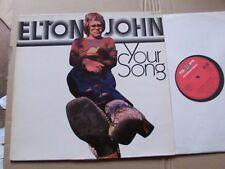 ELTON JOHN,YOUR SONG lp vg+/vg+ s*r records 92884 (club) Germany 1971