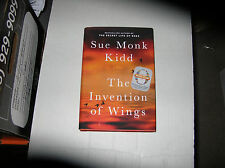 The Invention of Wings by Sue Monk Kidd (2014, Hardcover) SIGNED 1st/1st