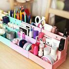 Cute DIY Paper Board Storage Box Desk Decor Stationery Cosmetic Makeup Organizer