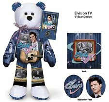 Elvis Presley Elvis On TV  Teddy bear - GREAT CHRISTMAS GIFT IDEAL