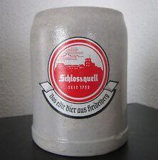 Steinkrug SCHLOSSQUELL Das edle Bier aus Heidelberg Kneipe Reklame Werbung alt