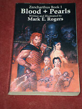 Blood and Pearls by Mark Rogers (1999, Paperback)