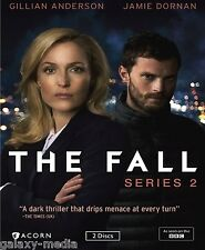 The Fall Second Season Series Two 2 (2-DVD, 2016) Gillian Anderson, Jamie Dornan