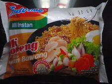 Indomie noodle Mie Instant Mi Goreng Ayam Bawang. Indonesian Chicken Onion taste