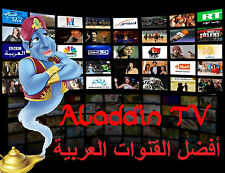 Aladdin Budget IPTV Box HD Arabic TV Channel Quad Core MBC WiFi No Dish Receiver