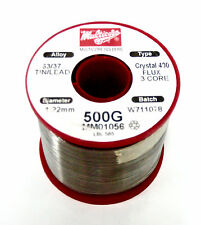 Multicore MM01056 WIRE SOLDER 63/47 (1.22mm) Crystal 400 ~ 1 LB. Roll ~ NEW!