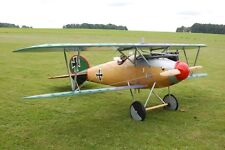 Giant 1/3 Scale German WW-I Albatross D.III Biplane Plans,Templates,Instructions