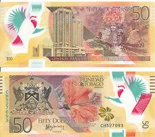 Trinidad & Tobago - 50 Dollars 2015 UNC - Pick 56