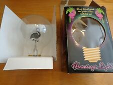 Flamingo Light Flamingo Bulb Voltaire Style Neon. Tested. Works!