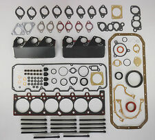 FULL HEAD SUMP PAN GASKET SET BOLTS BMW 325i 325ix 525i 525ix 525e E28 E30 M20