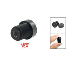 """New 1/3"""" CCTV 2.8mm Lens Black for CCD Security Box Camera"""