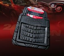 DICKIES ALL WEATHER WATER PROOF 2PCS FRONT FLOOR MATS BLACK FOR CAR & TRUCK