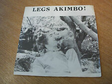 "legs akimbo 1980 uk vindaloo label 7"" vinyl 45 acoustic art rock experimental"