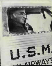 President Franklin Roosevelt on way to Chicago 1943 Press Photo