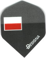 Polish Flag Dart Flights: 3 per set