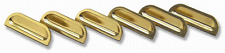 """1957 Chevy Chevrolet Bel Air #530 """"Gold"""" FENDER LOUVERS - New"""
