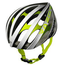 CARRERA RAZOR ROAD E00371 SAFETYBIKE ADULTS CRASH HELMET 58-61cm WHITE/GREEN