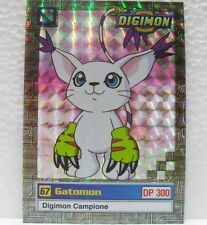"DIGIMON TRADING CARDS - ""GATOMON"" 9/32 foil - 2a SERIE GIALLA"