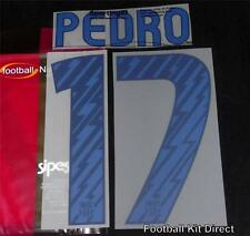 Official Barcelona Sergio 16 2010/11 Football Shirt Name Set Away Player Issue