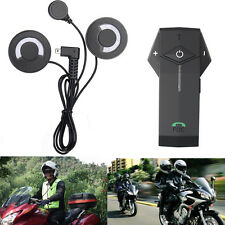 1x 1000M FM NFC Bluetooth Intercom Motorcycle Motor Helmet Interphone BT Headset