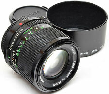 CANON FD 100mm 2.8 + Hood BT-52