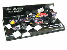 RED BULL RACING RB7 VETTEL WELTMEISTER WINNER TURKISH GP 2011 410110201 1/43 NEW