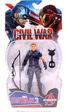 Marvel Legends Avengers Civil War Hawkeye PVC Action Figure Collectable Toy