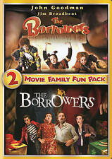 The Borrowers 2-Movie Family Fun Pack (DVD, 2014, Canadian) New