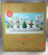 Hallmark Peanuts Gang Christmas Light Show Collector's Set Special Edition 2015
