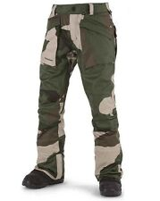 VOLCOM Men's 50's WORK Snow Pants - CAM - Large - NWT