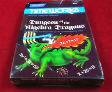 C64: MYSTERE of the algèbre Dragons-timeworks 1983