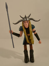 "RARE HUGE 4.75"" Tuffnut w/ Spear 2014 Action Figure How To Train Your Dragon 2"