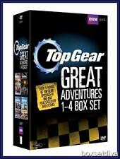 TOP GEAR THE GREAT ADVENTURES 1 2 3 & 4 *BRAND NEW DVD BOXSET*