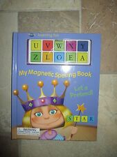 NEW MAGNIX My Magnetic Spelling Book-Leanring Fun-Let's Pretend