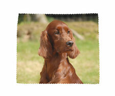 Irish Setter Soft Microfibre Glasses Lens Phone Screen Cleaning Cloth Design No2