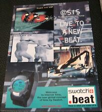 Advertising Swatch Beat - unused