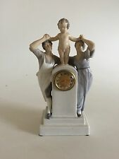 Royal Copenhagen Art Nouveau Watch with Women and child by Christian Thomsen