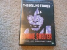 """ROLLING STONES """"GIMME SHELTER"""" DVD"""