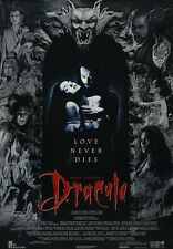 Dracula movie poster - Gary Oldman, Winona Ryder, Anthony Hopkins, Keanu Reeves