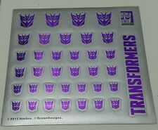 Transformers Sticker / Decals for Decepticon / Autobot (Hasbro / Takara)