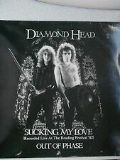 "DIAMOND HEAD,""Sucking My Love"" Ultra Rare Live 12"" Original 1983 NWOBHM Classic!"