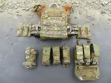 Easy & Simple BRAGG 26007 1/6 Multicam Jumpable Plate Carrier & Pouches Lot
