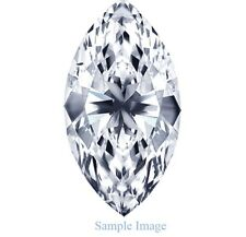 .12ct Natural Loose Earth Mined Diamond Marquise Cut I1 Clarity J Color 4.9x2.3
