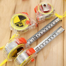 Clear Plastic Housing Retractable Metric Ruler Range Measuring Measure Tape 3M