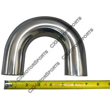 """304 Stainless Steel Pipe 1.75"""" Mandrel Bend 180 Degree U Downpipe Manifold"""