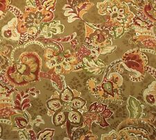 """BRAEMORE TUSCAN VINE RUSTIC O4013 FLORAL OUTDOOR INDOOR FABRIC BY YARD 54""""W"""