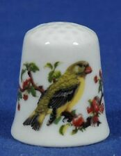SPECIAL OFFER.TCC Vista Alegre Song Bird Portugal China Thimble B/19